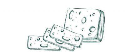 гравюра сыра